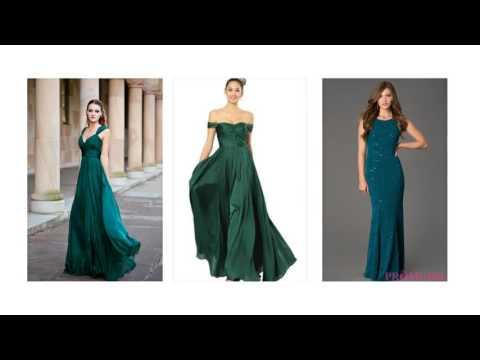100 Abendkleid grün, dunkelgrünes kleid, abendkleid mintgrün