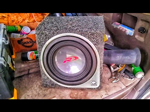 Loud Single 10 Subwoofer Alpine Type R
