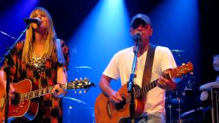 "Kenny Chesney & Grace Potter feat Matraca Berg - ""You & Tequila"" Nashville, TN 9/12/11"