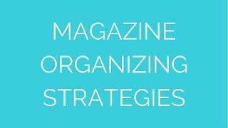 Book And Magazine Organization