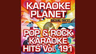 The Best Of Me (Karaoke Version With Background Vocals) (Originally Performed By David Foster &...