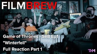 "Game of Thrones - Se8 Ep1 - ""Winterfell"" - Reaction - Full Reaction Part 1"