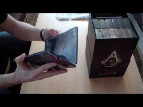 Assassin's Creed III - Freedom Edition - Unboxing (rozbalení)