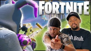 Revisiting Fortnite w/ My Annoying Little Brother Was Legit FUN!