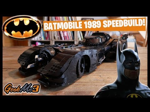 Vidéo LEGO DC Comics 76139 : La Batmobile de 1989