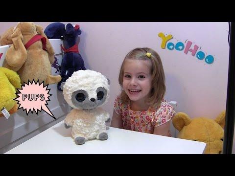 My YooHoo ♥ Interaktives Kuscheltier ♥ lustiges Plüsch-Bärchen   Simba Toys