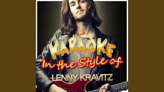 If You Can't Say No (In the Style of Lenny Kravitz) (Karaoke Version)