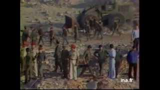 L'Opération sur Le Drakkar à Beyrouth Liban  le 23 oct 1983