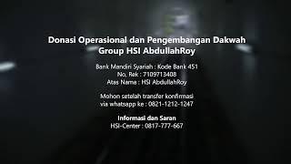 Mulazamah HSI – Kitab Tauhid Pertemuan 29