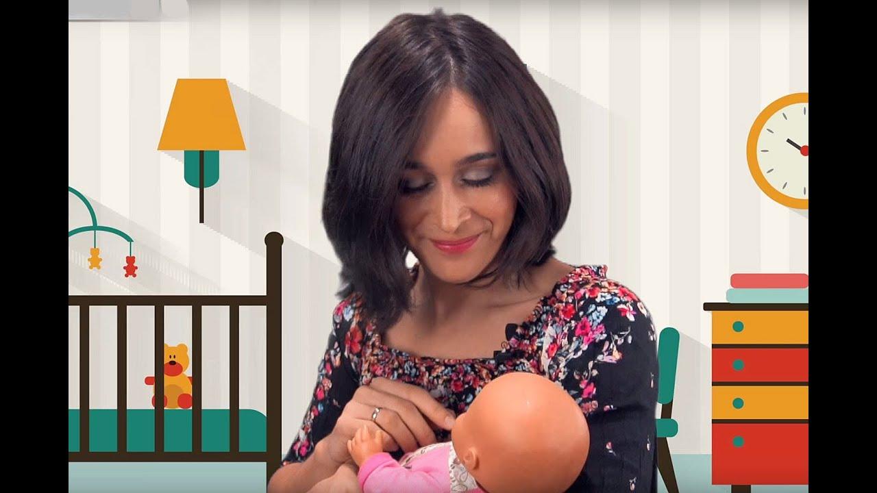 Cinco nanas o canciones de cuna  para dormir al bebé