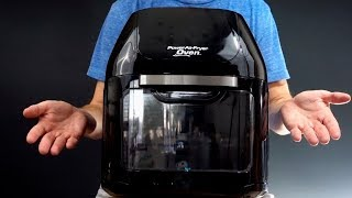 Power AirFryer Oven Review: First Look