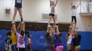 Awesome Cheer Stunts