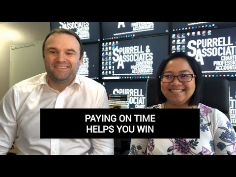 Edmonton Business Consultant | Paying on Time Helps You Win