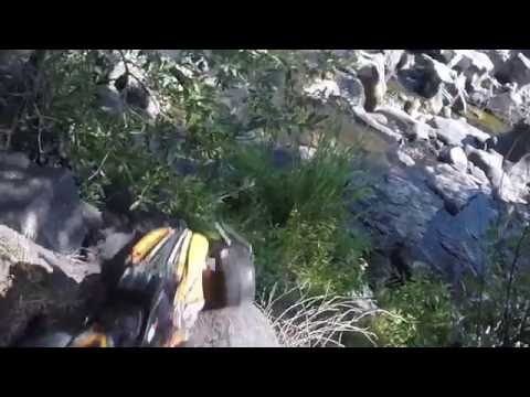 Toy Cars Driving Off Cliffs And Crashing Into Each Other