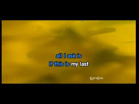 ALL I ASK - Bruno Mars KARAOKE VERSION