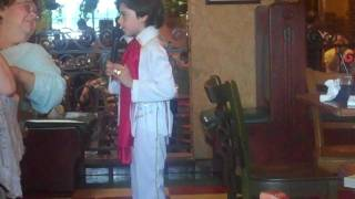 """Little Elvis Sings """"Are You Lonesome Tonight"""""""