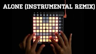 Alan Walker - Alone (Instrumental Remix) | Launchpad Mini Cover + Project File by Shri D