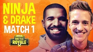 Ninja And Drake Play Duos! Match 1   Fortnite Battle Royale Gameplay