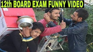 12th Candle Light Exam Funny Video by | kashmiri rounders