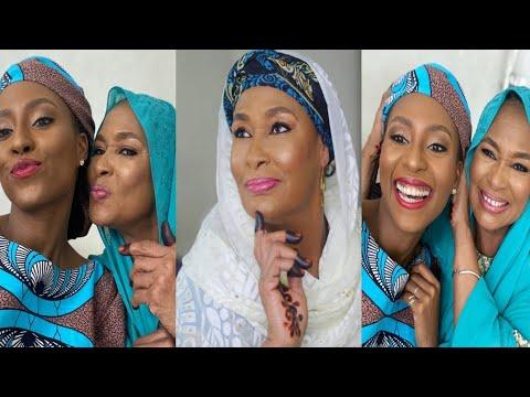 Jaruma Maryam Booth ta yaya mahaifiyar ta tsohuwar jaruma Zainab Booth murnar birthday din ta