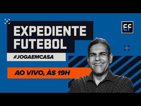 EXPEDIENTE FUTEBOL AO VIVO! João Guilherme e cia. chegam com todas as notícias do mundo da bola