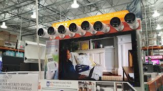 Costco! LOREX 4k Ultra HD NVR Wired Security System 8 Cameras! $799!!!