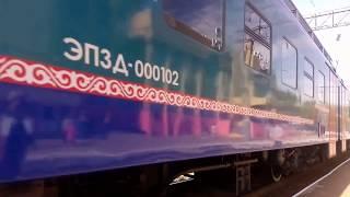 станция Курорт Боровое, электропоезд №807 Астана - Кокшетау