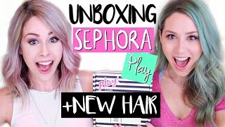 UNBOXING Sephora PLAY! MAY 2016 | NEW HAIR!!! by Eleventh Gorgeous