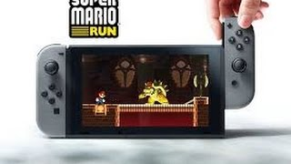 Super Mario Run Downloaded 40 Million Times Haters Still Doubting Nintendo Switch System Spacs...