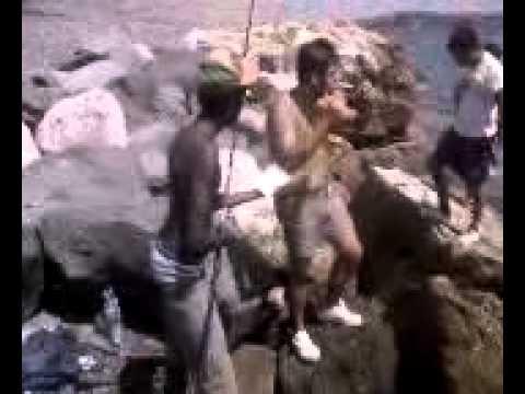 Volga il russo che pesca nel 3o pesce su posizioni