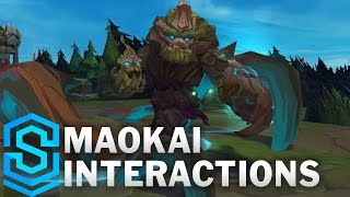 Maokai Special Interactions (2017 Update)