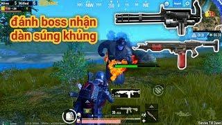PUBG Mobile - Trải Nghiệm Chế Độ Zombie, Đánh Boss | Nhận Loạt Súng Khủng M134, Flamethrower