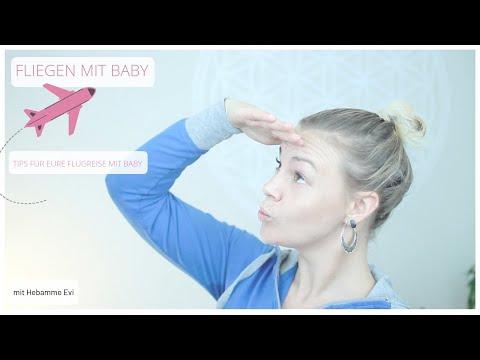 Fliegen mit Baby I Tips für Flugreisen mit Baby I Hebammentips I Reisen mit Baby