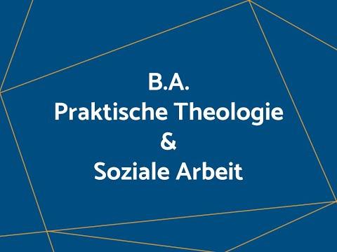 B.A. Praktische Theologie und Soziale Arbeit