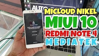 Redmi NOTE 4X MTK Remove Mi CLOUD Via UFI - Android ToolBox