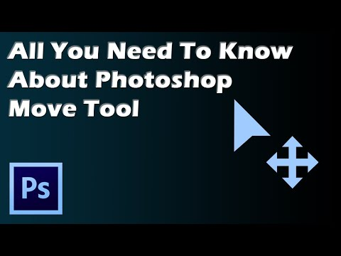 video tutorial on All You Need To Know About Photoshop Move Tool