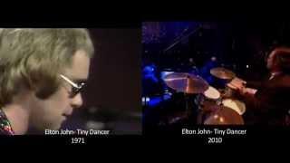 Elton John   Tiny Dancer   1971 Vs 2010