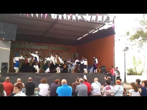 Primera actuación oficial de la agrupación folklórica