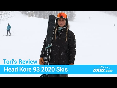 Video: Head Kore 93 W Skis 2020 21 50
