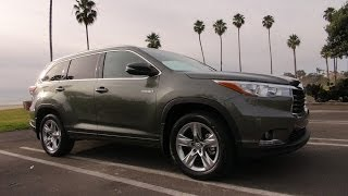 2014 Toyota Highlander Hybrid First Drive Review