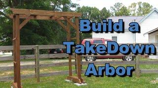 Build A Knockdown Arbor