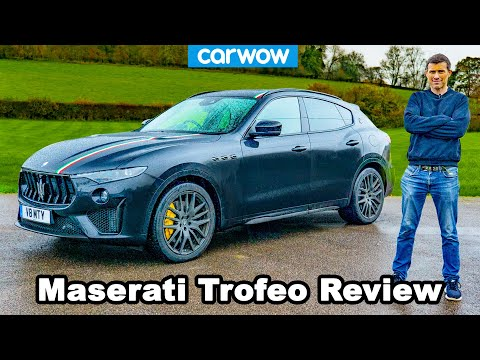 Maserati Levante Trofeo 2021 review - you'll be amazed how quick it is to 60mph!
