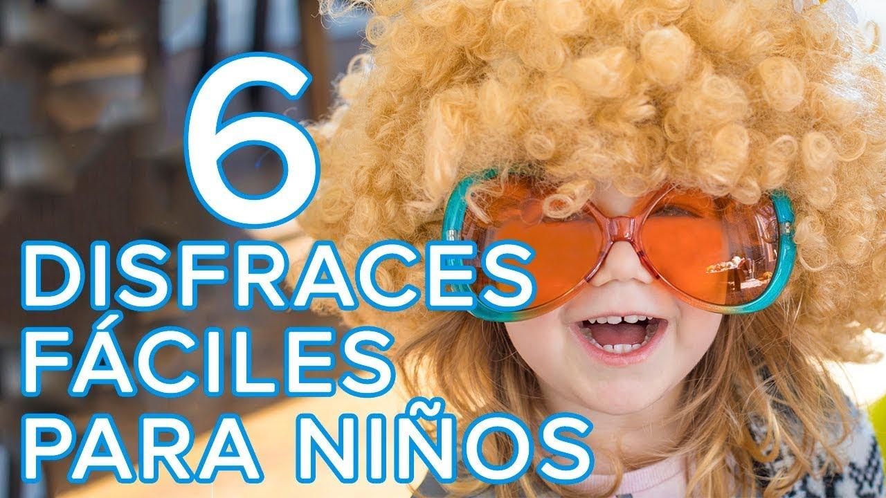 Disfraces de útlima hora para niños | Ideas de disfraces express para carnaval