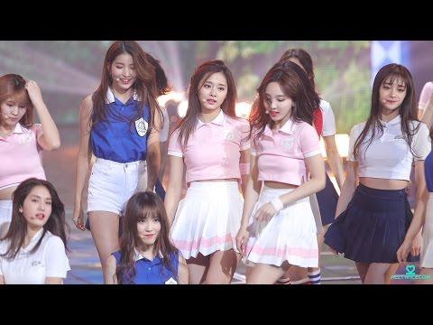 161229 KBS 가요대축제 다시만난세계(소녀시대) - 쯔위 직캠