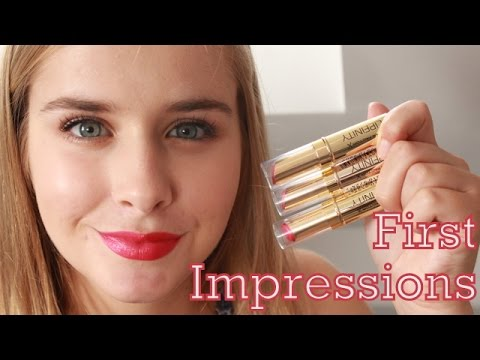 First Impressions Max Factor Lipfinity Long-lasting Lipsticks