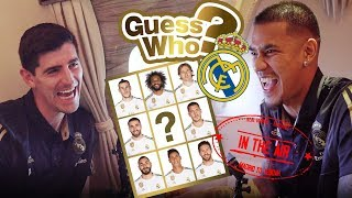 GUESS WHO? | Ep.4 ''IN THE AIR'' | Courtois vs Areola | Emirates Edition