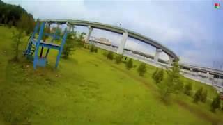 Летаем на FPV квадрокоптере в парке