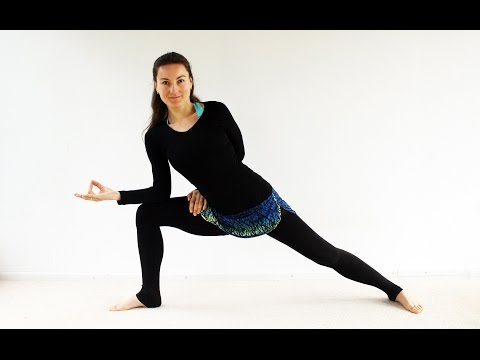Yoga para MUJERES durante menstruación - 35 min