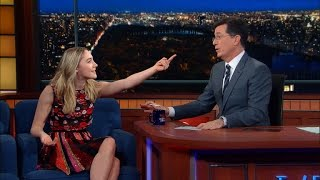 Saoirse Ronan Tries To Teach Stephen An Irish Accent