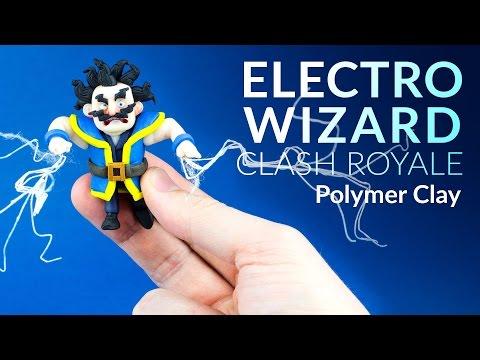 Electro Wizard (Clash Royale) – Polymer Clay Tutorial